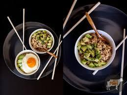 Tuna with Avocado Brown Rice Bowl ...