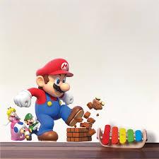 Super Mario Bro Decals Kids Decals Game Room Nintendo Decals Super Mar American Wall Designs