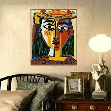 Pablo Picasso Cubism Wall Art Decor Paintings