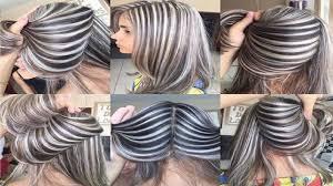 فيديو تسريحات الشعر القصير و الطويل وألوان الشعر روعة