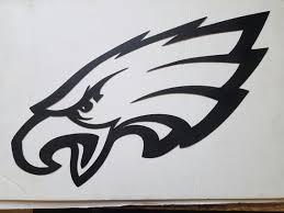 philadelphia eagles head metal wall art