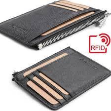 rfid front pocket slim wallet for men