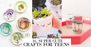 30 fun crafts for teens that will bring
