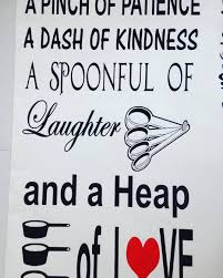 Jr Decal Wall Stickers A Pinch Of Patience A Dash Of Kindness A
