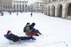 Verona, venerdì scuole chiuse per neve - CorrieredelVeneto.it