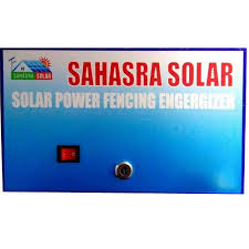 Solar Power Fence Energizer At Rs 4500 Piece Solar Energizer Id 13654597688