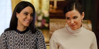 Actresses who played Meghan Markle in 2 different Lifetime movies pose  together