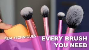 the best makeup brushes from real