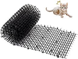 Yinuoday Cat Scat Mat Garden Balcony Wall Fence Spikes Cat Prickle Strip Cats Dogs Digging Stopper 78 7x11 8in Amazon Ca Pet Supplies