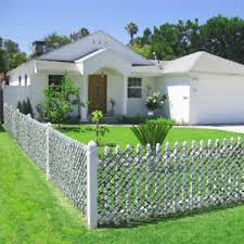 Artificial Expandable Decor Leaves Privacy Fence Screen Windscreen Single Side Ebay