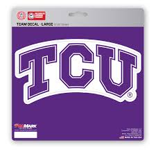 Tcu Large Decal Fanmats Sports Licensing Solutions Llc
