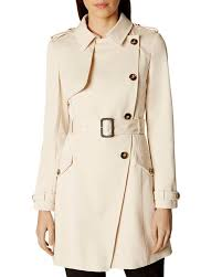 karen millen side on trench coat