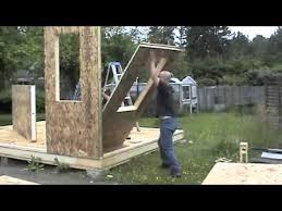 building a shed with sips you