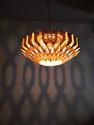 artistic pendant lamp for museum use