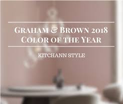 graham brown color of the year 2018