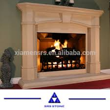beige marble fireplace gas fireplace