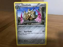 84/146 Uncommon Pokemon XY Base Set M/NM English x4 Doublade