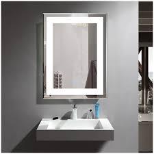 chrome framed bathroom mirror home