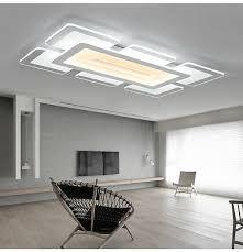 rectangular acrylic modern led ceiling
