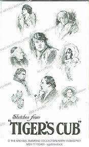Promotional postcard showing sketches of characters from The ...