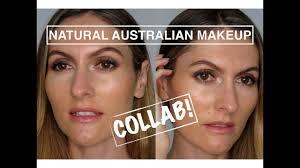 organic australian makeup tutorial