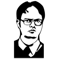 The Office Dwight Schrute Vinyl Decal Decalfly