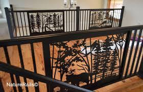 Deck Loft Balcony Railing Naturerails Com Railing Fence Front Yard Fence