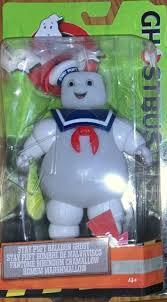 Ghostbusters Stay Puft Marshmallow Man Balloon Angry Burnt 6 Light Up Figure