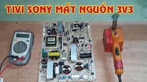 Sửa Nguồn Tivi Sony Mất điện áp 3v3 | Sửa Tivi Sony Không Lên Nguồn -  Surprisedfarmer.com