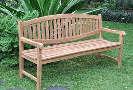 garden furniture made of teak