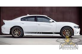 Rt Side Decals For Dodge Charger 2018 Stripes Charger Vinyl