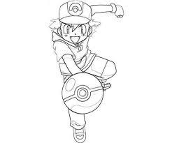Pokemon Kleurplaten On Twitter Nog Een Kleurplaat Ash In Actie