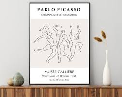 Picasso Wall Art Etsy