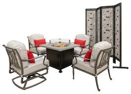 bel air 5 piece lounge chairs with