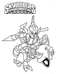 Skylanders Spyros Adventure Kleurplaat 2