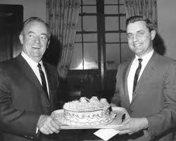 Walter Mondale and Hubert Humphrey, 1967 | MNopedia
