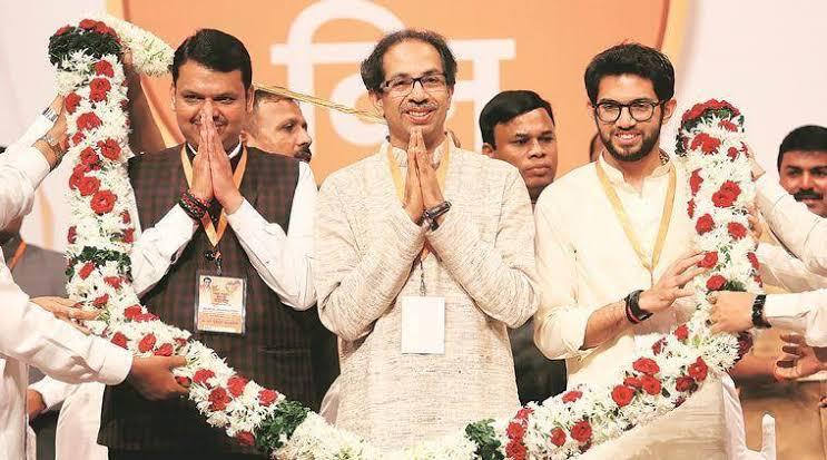 "Image result for maharashtra bjp shiv sena congress ncp"""