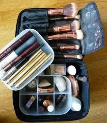 makeup bag the muji vanity make up box