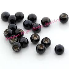 ball round bead steel diy navel