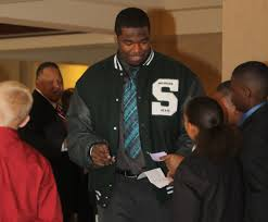 Michigan State and former Kalamazoo Central lineman D.J. Young ...
