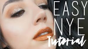 easy new years eve makeup tutorial