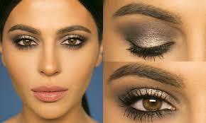 grey eye makeup for brown eyes cat