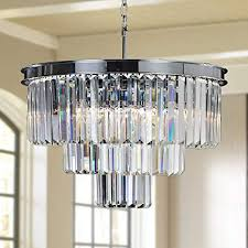 meelighting crystal chrome chandelier