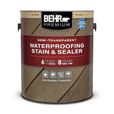 semi transpa waterproofing wood