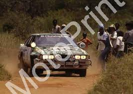 1983 Safari 9 Juichi Kojimoto, Peter Tilbury Nissan 240RS (Roger Swan) (6)  [46349] - R0.00 : Motoprint, The home of quality historic motor sport  photography