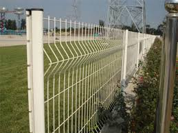 China Colorful Pvc Coated Garden Fence For Security Add Post With Sgs Use For Yard China Powder Coated Fence Anti Climb Fence