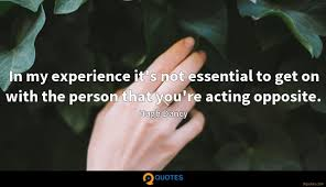 in my experience it s not essential to get on the person