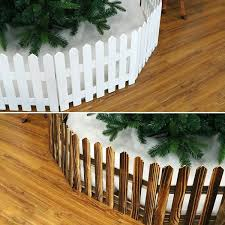 19 Off 2020 A62 Christmas Decoration Wooden Fence Christmas Scene Layout Window In White Dresslily