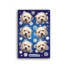 Snowflake Stickers Wagslaps