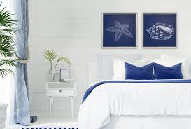 hamptons style wall art work prints